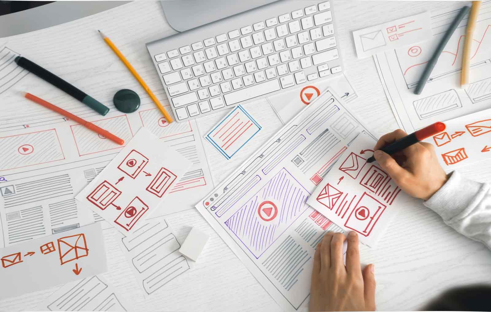 in raise website designer creates sketch application